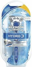 Wilkinson Sword Hydro 3 Razor with lubricating gel and blade