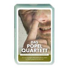 Popel Quartett - Das Ekel Kartenspiel für die ganze Familie - Männer Geschenk