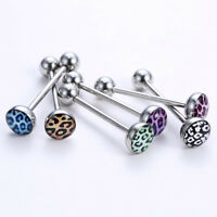 Popular Woman's Tongue Bar Ring Barbell 6PCS Lots Stainless Steel Body ToP