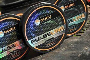 GURU PULSE-LINE 300M MONOFILAMENT / PULSE 8 BRAID 150M MAIN LINE - COARSE