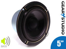 """Bass Driver Speaker Cone 5"""" 130mm 90W 8 Ohm Coated Speaker Small Bass Driver"""