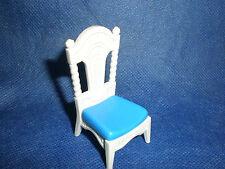 Playmobil Nostalgie Puppenhaus Esstisch Tafel weißer Stuhl unbespielt top