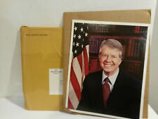 POTUS President Jimmy Carter White House envelope portrait mailed picture 1970s