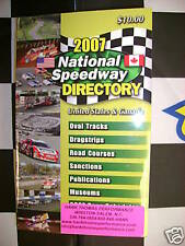 2007 National Speedway Directory United States & Canada