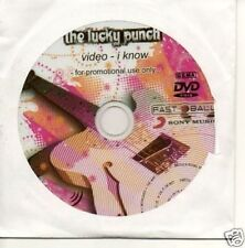 (787T) The Lucky Punch, I Know - DJ DVD