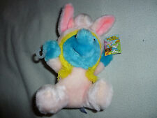 VINTAGE NEW WITH TAG SMURFETTE EASTER SMURF PLUSH RARE 1983 WALLACE BERRIE NWT >