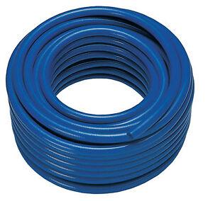 WFP Microbore Water Fed Pole reinforced Hose 6mm id x 11mm od 100mtr BLUE