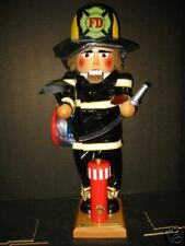Steinbach 123 Nutcracker American Brave Fireman Retired