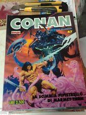 CONAN SPADA SELVAGGIA n°  47  - ED. COMIC ART - SAVAGE SWORD