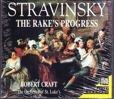 Stravinsky: The Rake's Progress Robert Craft 2cd Music Masters John Cheek NEUF