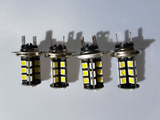 AUDI A3 HATCH 2005-2006 4X H7 27 SMD LED HEADLIGHT FOG LIGHT BULBS BULB