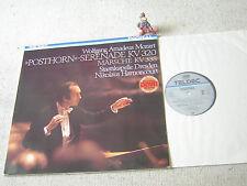 MOZART Posthorn-Serenade HARNONCOURT SK DRESDEN 1984 GER LP TELDEC DIGITAL