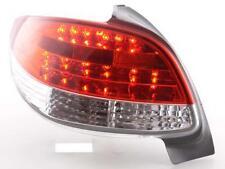 Coppia Fari Fanali Posteriori Tuning LED Peugeot 206 3/5 porte ohne Cabrio 98-05