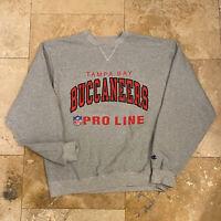 Vintage Tampa Bay Buccaneers Pro Line Pullover Sweatshirt 90s Size XL NFL