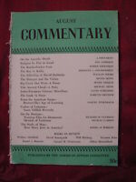 COMMENTARY magazine August 1949 Hal Lehrman Morris Freedman Michael Seine