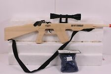 MAGNUM RUBBER BAND GUNS AK-17 COMBAT RIFLE  W/ SCOPE & SLING  GL2AK47SS  W /AMMO
