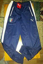 Puma Italie FIGC Stadium Pantalon 13 -14 ans BNWT VAREUSE-BLANCHE