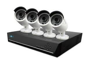 Reolink 5MP 16CH 3TB HDD POE NVR IP CCTV Recorder RLN16 410 - 4x 5MP Cameras