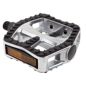 """MOUNTAIN CRUISER BICYCLE BIKE ALLOY PEDALS 9/16"""" PAIR"""