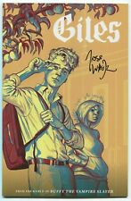 Giles #1 Signed Josh Whedon ComicsPRO Exclusive Variant! Buffy! See Scans!