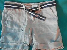Hollister  California Shorts Khaki tan 100% Linen size 0