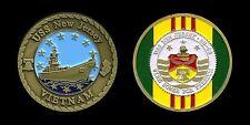 Challenge Coin - US Navy Battleship New Jersey BB-62 Vietnam War