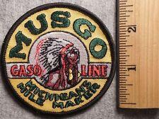 MUSGO GASOLINE MICHIGANS MILE MARKER PATCH (HARDWARE, CONSTRUCTION)