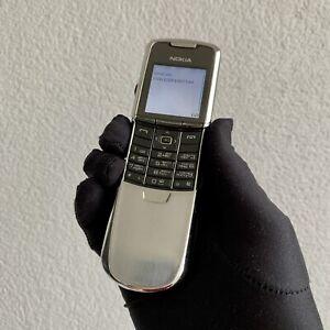 Original Nokia 8800 Classic - Silver (Unlocked) Cellular Phone