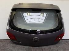 Mazda 3 BK BJ 2003 Tür hinten Hecktür Heckklappe Blau