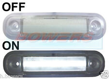 12V/24V SURFACE MOUNT WHITE FRONT LED MARKER LAMP / LIGHT TRUCK VAN KELSA BAR