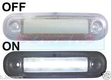 Montaje en superficie 12V/24V Blanco LED Marcador Lámpara/Luz delantera camión van Kelsa Bar