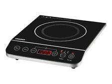 Unold 58105 Induktions-kochplatte Elegance Edelstahl-schwarz 2000 W Timer Kochplatten Haushaltsgeräte