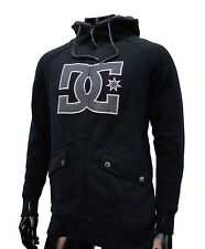 Dc shoes maximillions skateboard team black sherpa mens hoodie small