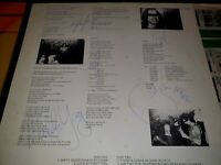 AC/DC DIRTY DEEDS ORIGINAL SIGNED LYRIC SHEET-Malcolm & Angus Young - Bon Scott