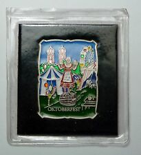 B.H. MAYERS OKTOBERFEST 1 OZ .999 SILVER BAR ENAMELED Sealed RARE Great Gift