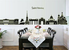 Glow at night Saint city home Decor Removable Wall Sticker Decal Decoration