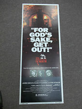original The Amityville Horror (1979) movie poster insert 14 x 36