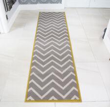 Milan Ochre Mustard Yellow Grey Beige Harlequin Triangles Traditional Living Room Rug 120cm X 170cm
