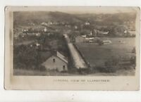 General View Llanybyther Llanybydder Carmarthenshire Vintage RP Postcard 539b