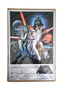Star Wars Official Metal Film Poster Deagostini Collection 2016
