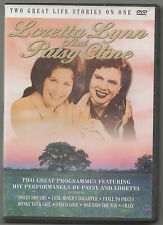 LORETTA LYNN AND PATSY CLINE · TWO GREAT LIFE STORIES ON ONE DVD