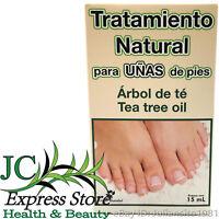 TEA TREE OIL TREATMENT FOOT NAILS TRATAMIENTO PARA UÑAS DE PIES 15ml ANTIFUNGAL