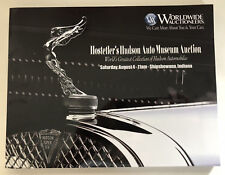 Worldwide Auction Catalog 2018 Hudson Hornet Italia 32 World Records NASCAR