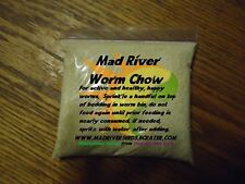 White Worm chow Organic food for your white worms FREE SHIPPING!