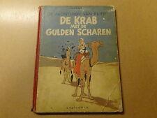 STRIP / KUIFJE 8: DE KRAB MET DE GULDEN SCHAREN | 2de druk | 1947
