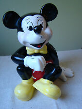 Vintage Ceramic Mickey Mouse Bank Figurine  38143