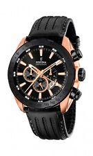 Festina Herrenuhr Uhr Chronograph Special Edition Schwarz Rosé Sport F16900/1