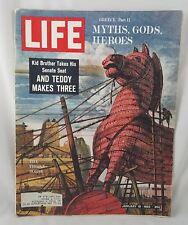 Life Magazine Jan 18 1963 Jackie Kennedy Aspen Idol's Eye Mastrianni Coke