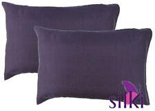 Taies d'oreiller violet pour chambre