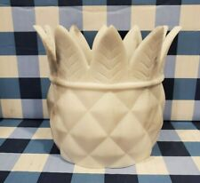Bath & Body Works PINEAPPLE MARBLE resin candle holder for 7oz 1 wick candles